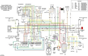 Suzuki Gs550 wiring diagram   Motorcycles   Pinterest