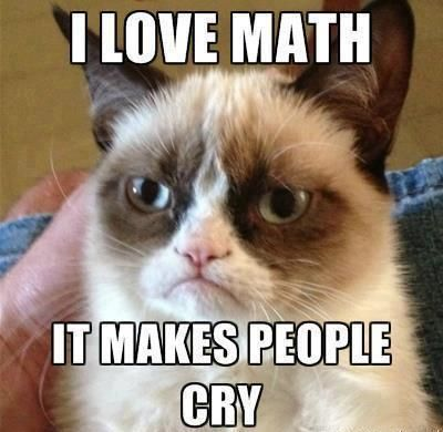Grumpy Cat Pictures about math | Added | Source Unknown | 1731 Views | Show Comments ( )∨ Hide ...