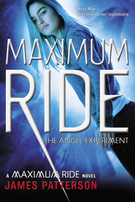 The Angel Experiment. This is the first of eight books in the highly praised Maximum Ride series. I truly could not put this book down! It is a very exiting story about bird kids trying to hide and run from erasers, and evil scientists. It is a touching story from a well knkwn author James Patterson.