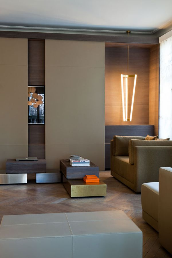 A CONTEMPORARY PARIS APARTMENT By:  Isabelle Stanislas and Leiko Oshima of the French design firm SO-AN