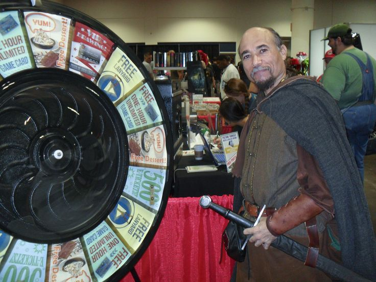 Fun Time Spinning the Prize Wheel