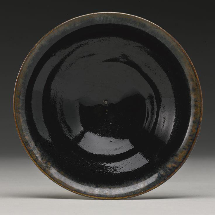 A Northern black-glazed teabowl, Northern Song-Jin Dynasty