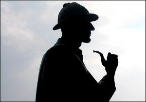 My first real introduction the famous consulting detective, Sherlock Holmes, was in English class at the age of 15 with Sir Arthur Conan Doyle's The Speckled Band. This was followed quickly by The Adventure of the Yellow Face and A Case of Identity.  I was one of the few who were completely enthralled with the detective and have maintained my interest in his methods ever since.