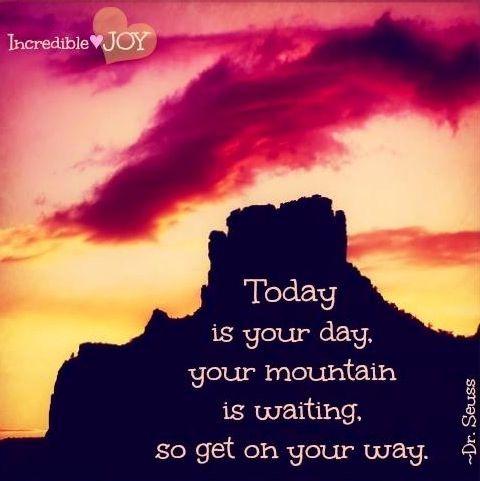 Motivational quote via www.Facebook.com/IncredibleJoy