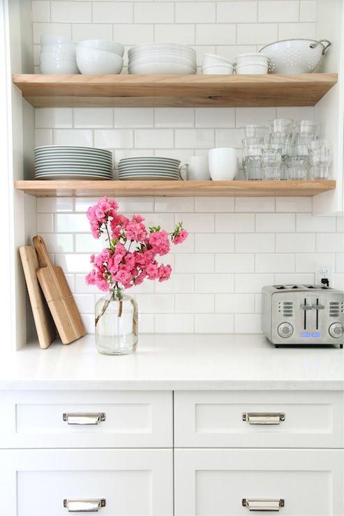 floating shelves kitchen kitchen pinterest on floating shelves kitchen id=24166