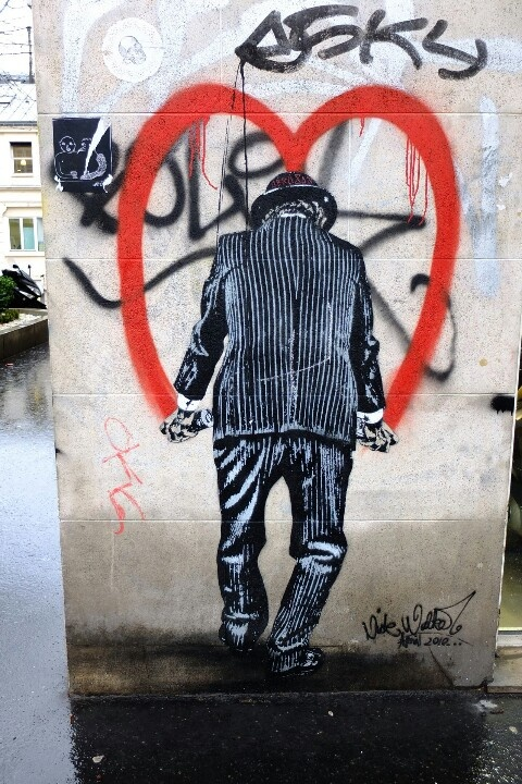 Paris 11 - boulevard beaumarchais - street art - nick walker