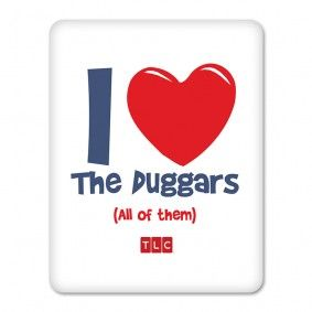 19 Kids and Counting I Heart the Duggars iPad Case $29.95 #19Kids    MY LIFE