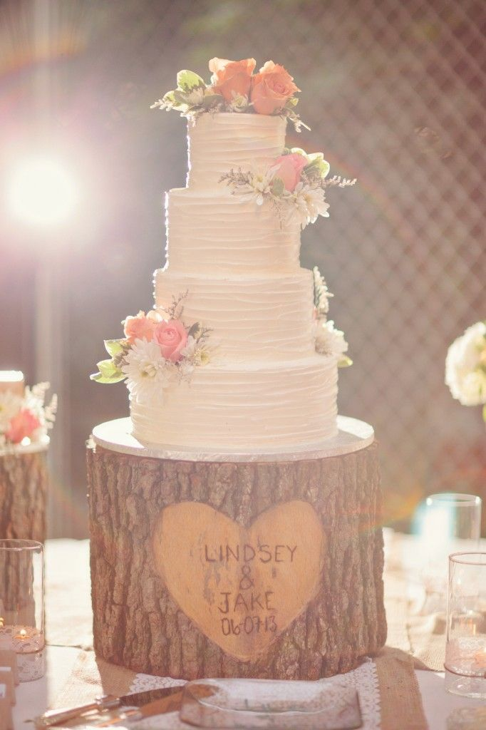 Tree Stump Cake Plate on earlyivy.com