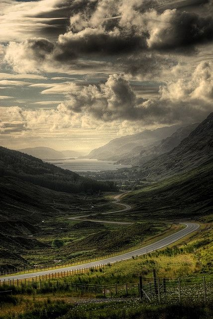 Scotland highlands by foxydeltan