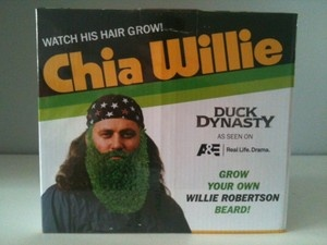 Duck Dynasty Chia Pet Willie Gag Gift