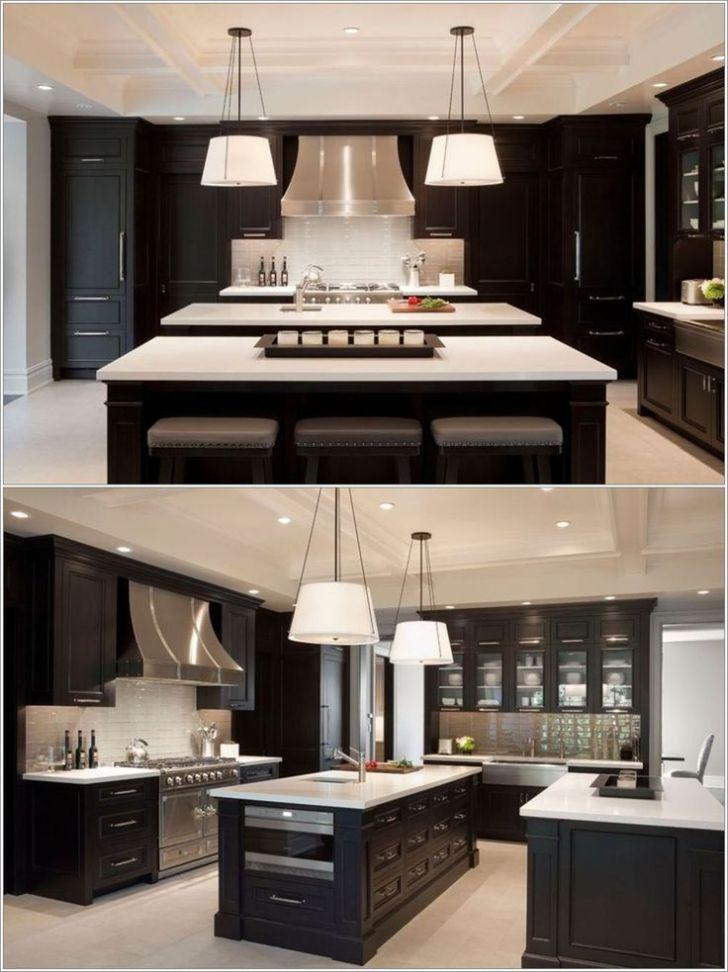 Double Island Kitchen Love Symmetry Darker Than Prefer But