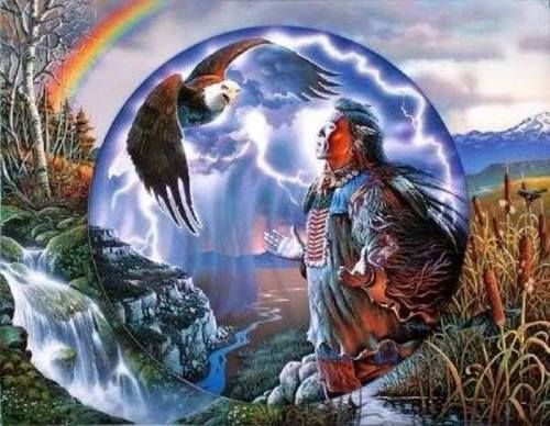 Treat the Earth and all that dwell thereon with respect. More of Laws Of The Great Spirit.