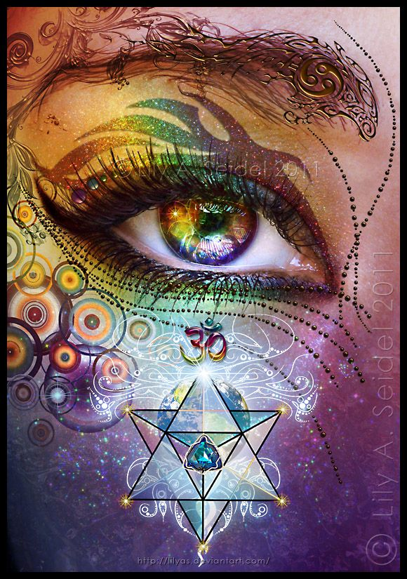 Rainbow Eye: Love and Light by `Lilyas
