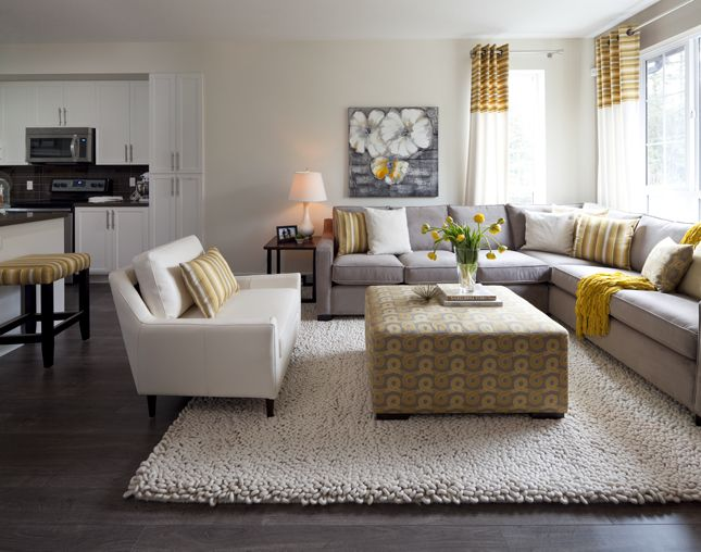 Townhouse Living Room