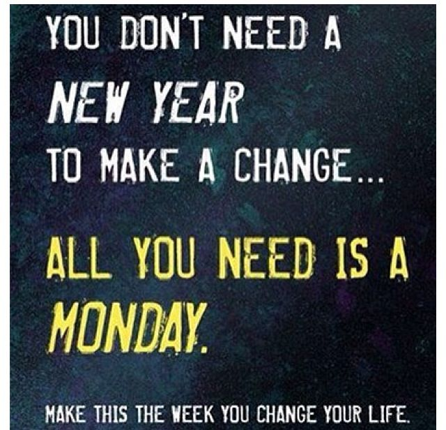 MONDAY MOTIVATION  Check out our Facebook and Twitter!