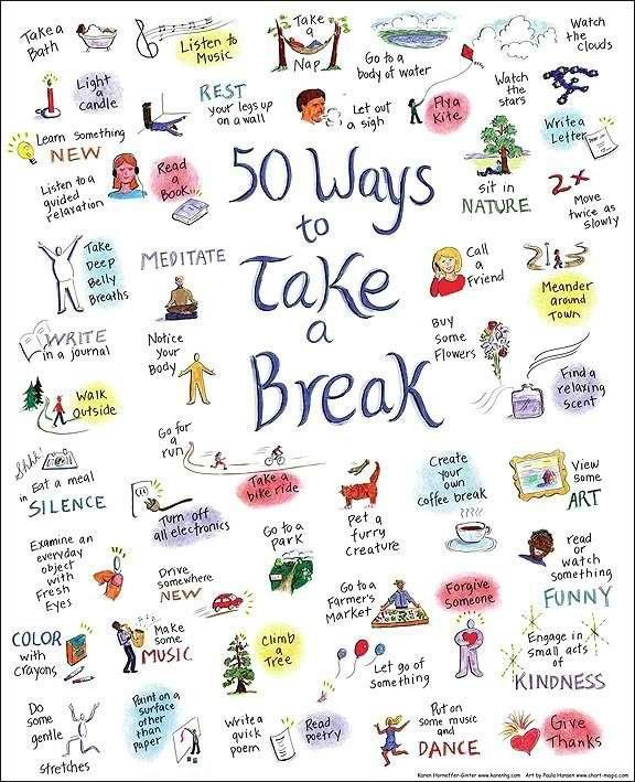 Finding ways to reduce stress #RxWiki The impact and importance of Communal Healing   Image credit goes to Katherine A.