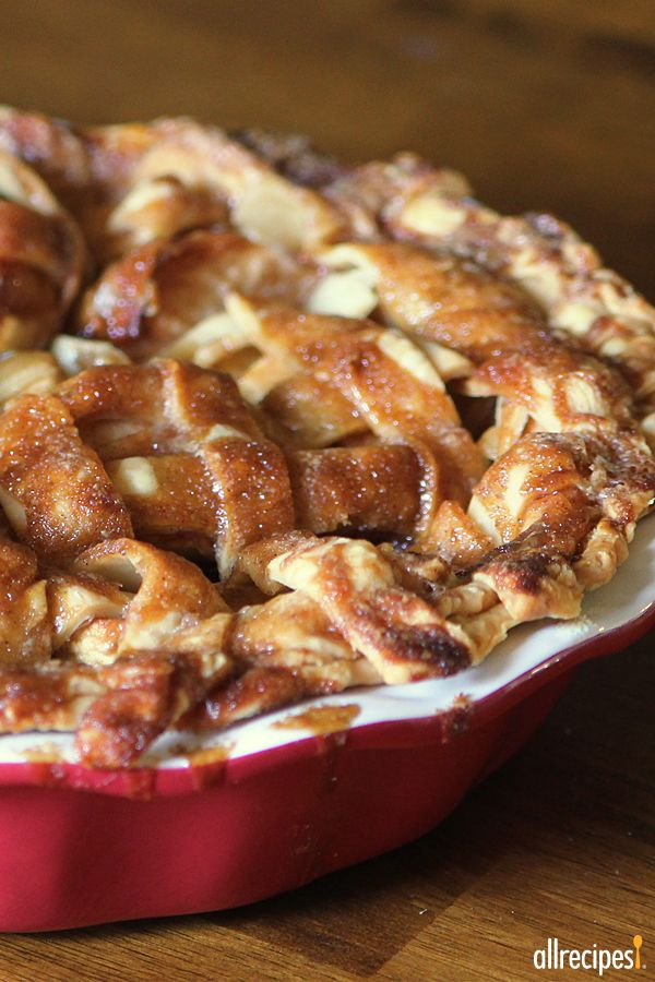 "Apple Pie by Grandma Ople | ""This is the only apple pie recipe you'll ever need! Love it!"""