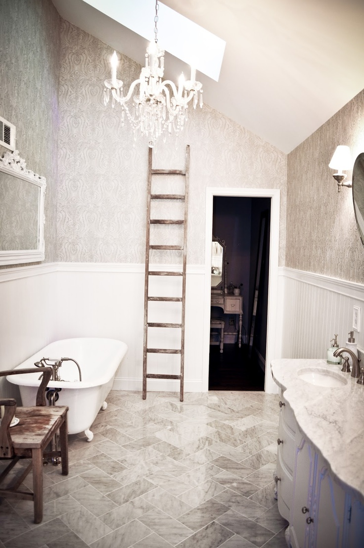 rustic farmhouse bathroom | Someday | Pinterest on Rustic Farmhouse Farmhouse Bathroom  id=15278