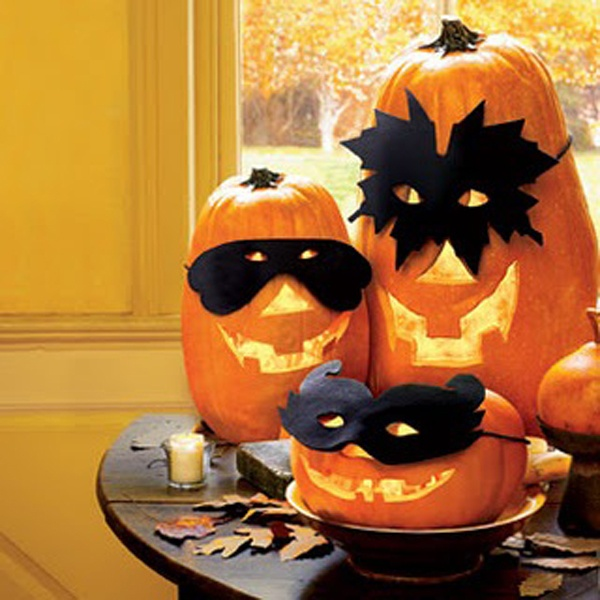 Decorative Halloween Pumpkins - cute AND easy!!!!