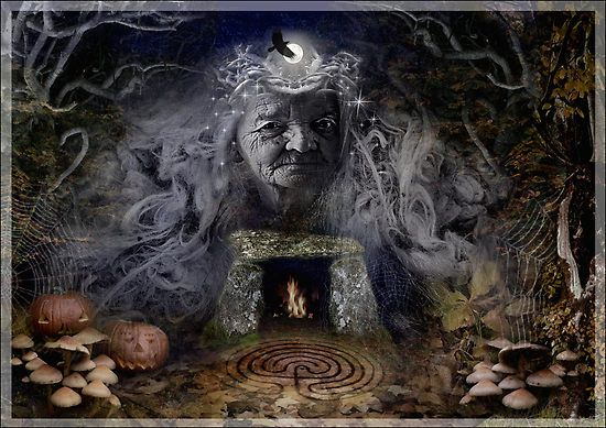 In early Ireland, the people of the different gathered at their ritual centers, for Samhain was the first and most important calendar feast of the year.  The greatest assembly was the 'Feast of Tara,' focusing on the royal seat of the High King as the heart of the sacred land, the point of conception for the new year. In every household throughout the land, hearth-fires were put out as all waited for the Druids to light the new fire of the year -- not at Tara, but at Tlachtga.