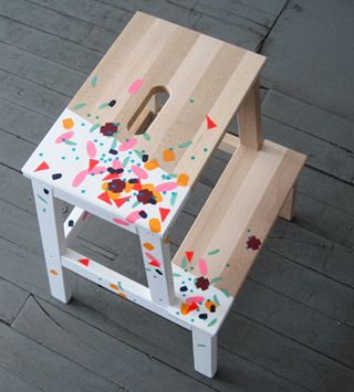 ikea, bekväm, stool, DIY, pimping, hack