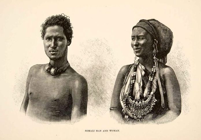 nomadamsterdam: Somali man and woman.