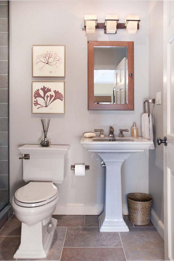 Decorating A Small Bathroom Ideas | Bathrooms | Pinterest