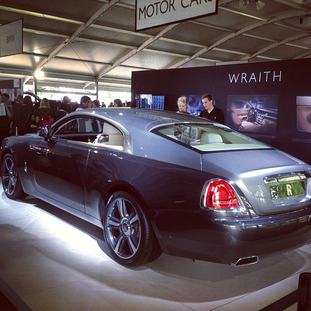 July: Wraith wows the crowds at Goodwood Festival of Speed's Moving Motor Show.