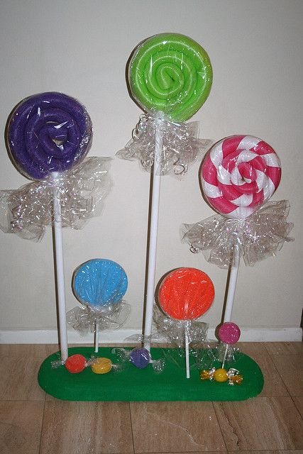 Candyland Stand Props
