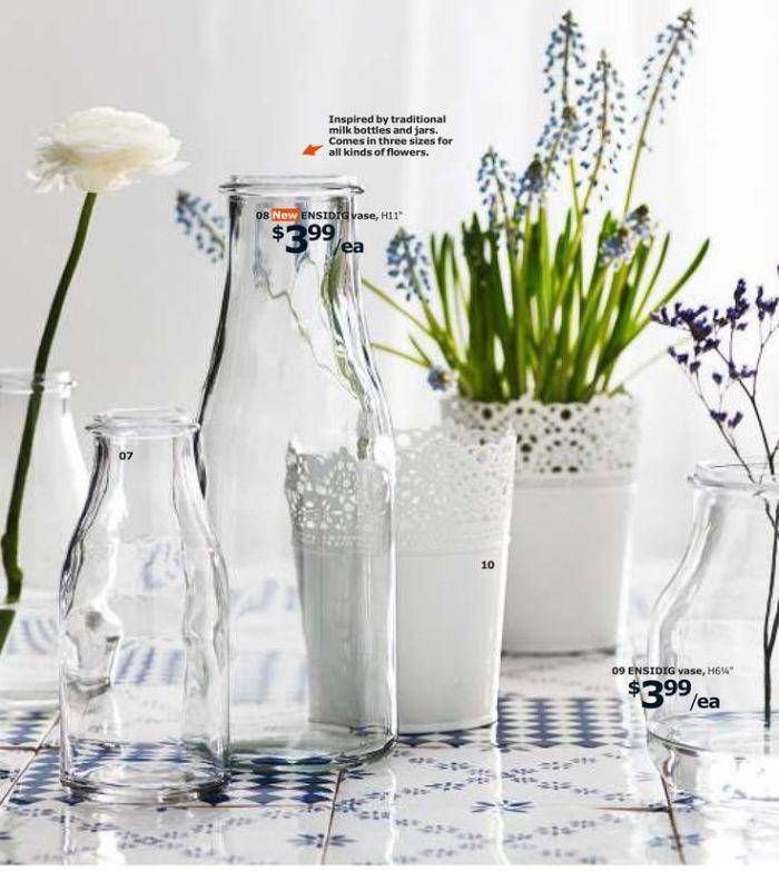 ENSIDIG   vases   $1.99-3.99
