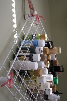 organizing craft room wire shelving - Google Search