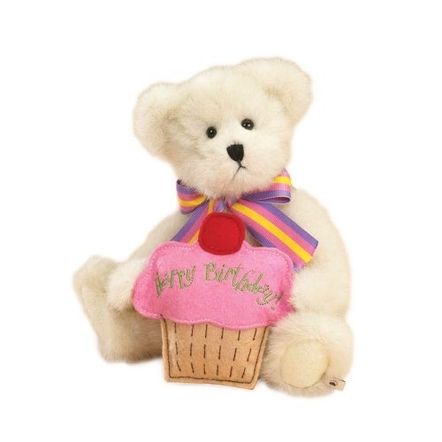 Boyd's Bears by Enesco Collectible  Lil' Cupcake Happy Birthday Plush Bear by Enesco, http://www.amazon.com/dp/B002U0N80W/ref=cm_sw_r_pi_dp_PR3Kpb191D10W