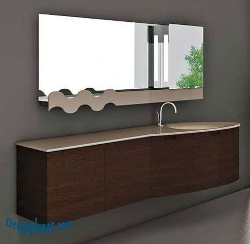 Unique Bathroom Mirror Bathroom Design Pinterest