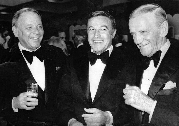 Frank Sinatra, Gene Kelly and Fred Astaire