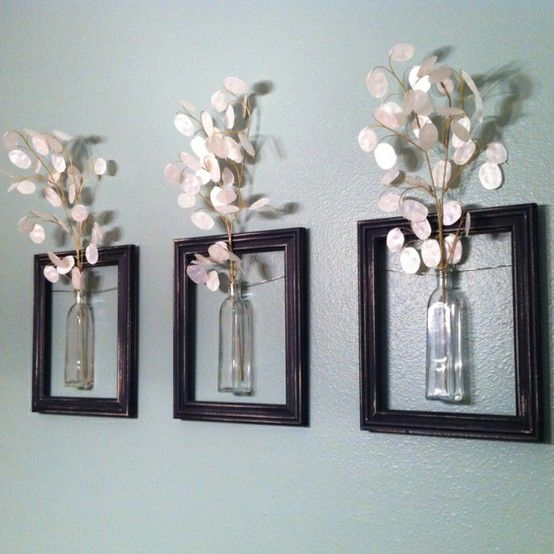 Flower vase DIY picture frames