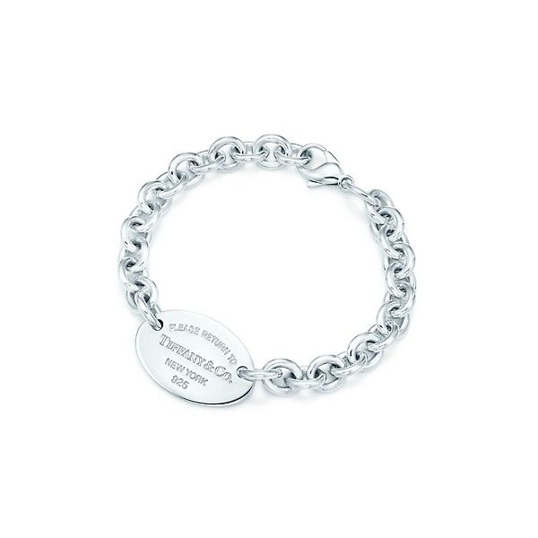 Return To Tiffany™ Oval Tag Bracelet, found on polyvore.com