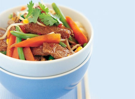 Beef Stir-fry (Low GI)
