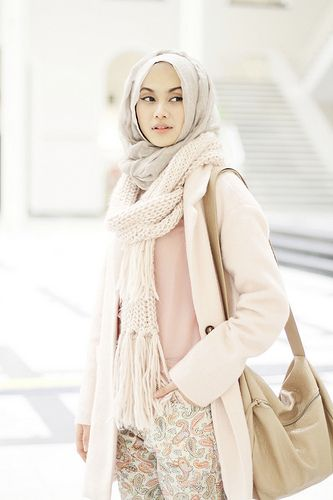 winter #hijab#muslimah