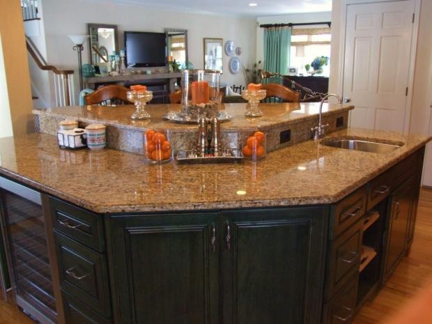 like the shape of this kitchen island kitchen ideas pinterest on kitchen island ideas v shape id=19107