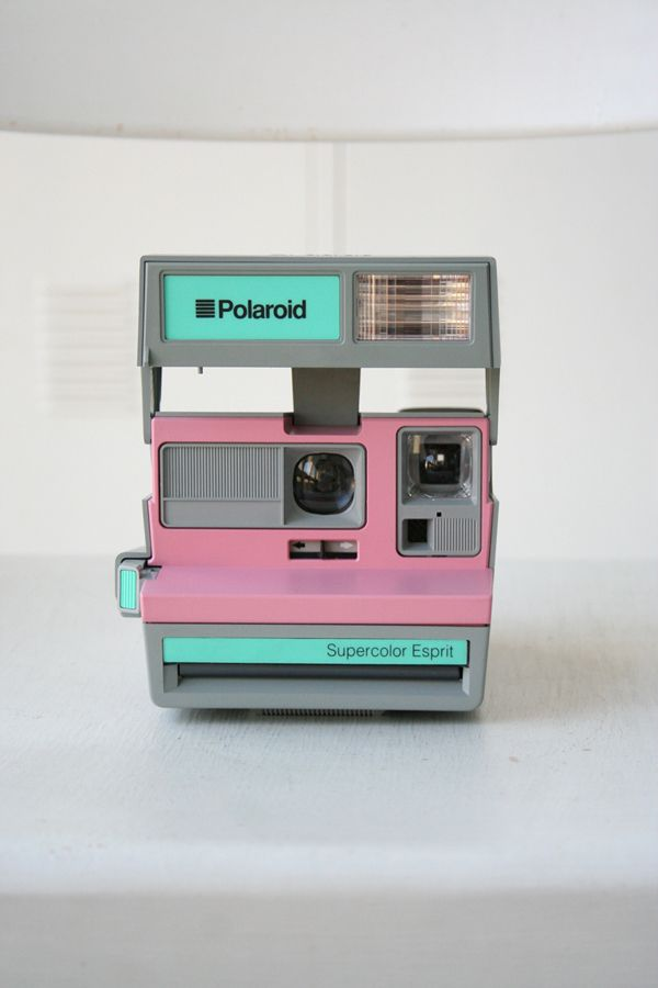 #thinkcolorfully mint and pink polaroid