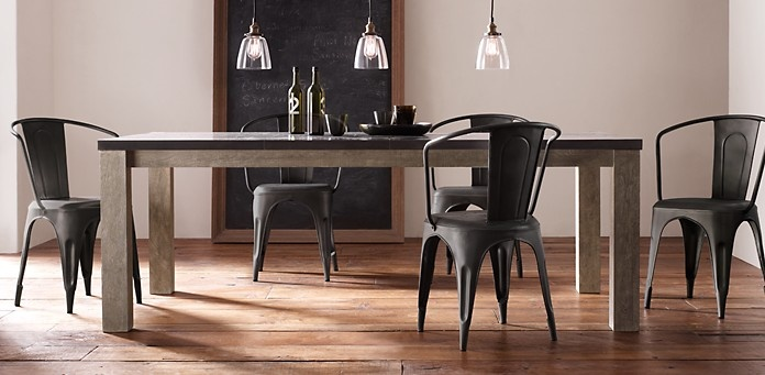 Dining Table: Railroad Tie Dining Table