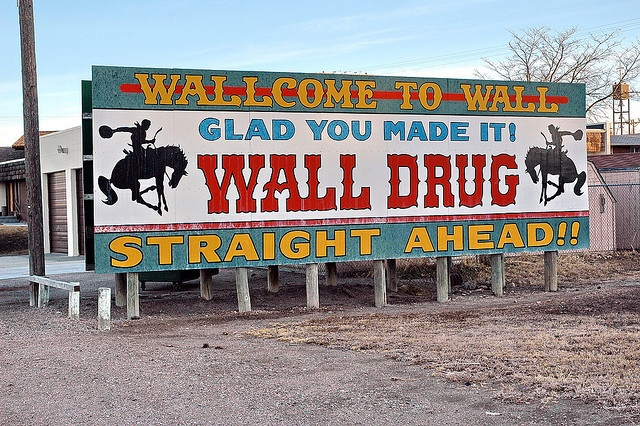 south dakota wall drug sign where i ve been pinterest on wall drug south dakota id=81428