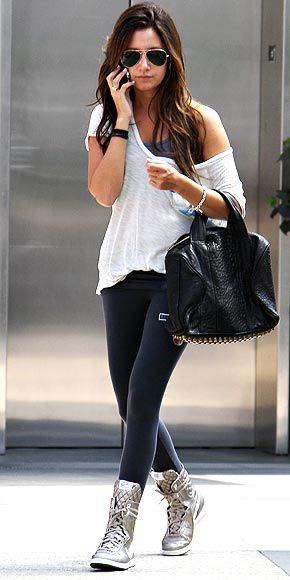 Beauty, Fashion and Lifestyle - On a Budget !: Ashley Tisdale Style Series - Casual !!!