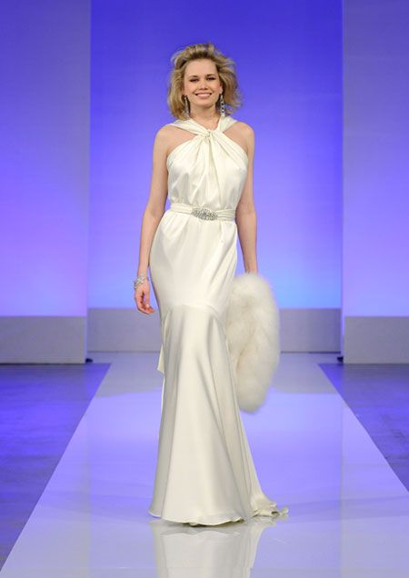 cymbeline halter wedding dress fall 2013