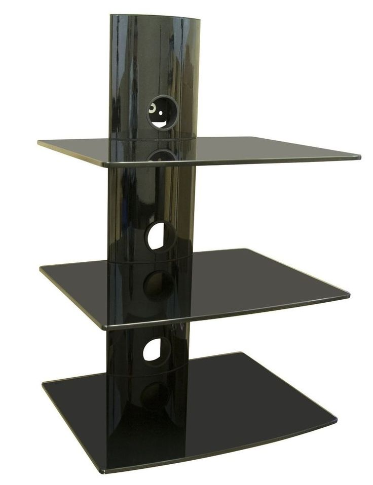 tv wall mount shelving bracket 3 shelf component shelves on wall mount bookshelf id=79584