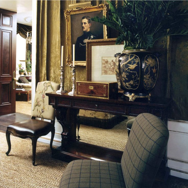 Ralph Lauren Living Room Console 1853-21 - Greenbaum Interiors ...