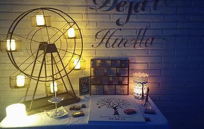 Mesa de Firmas. Eventos Limited Edition. Organización y Diseño de Fiestas Temáticas, Eventos y Bodas, Alicante