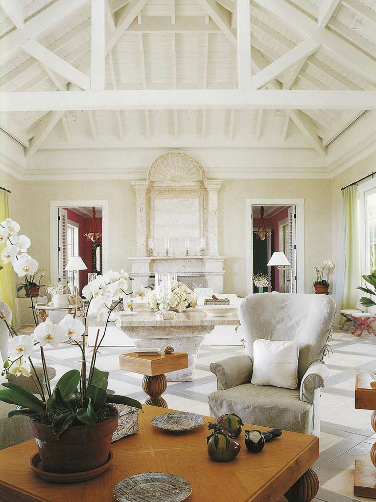 White Floridian by John Stefanidis via http://cocomale.com/blog/2008/09/house-in-florida-by-john-stefanidis/