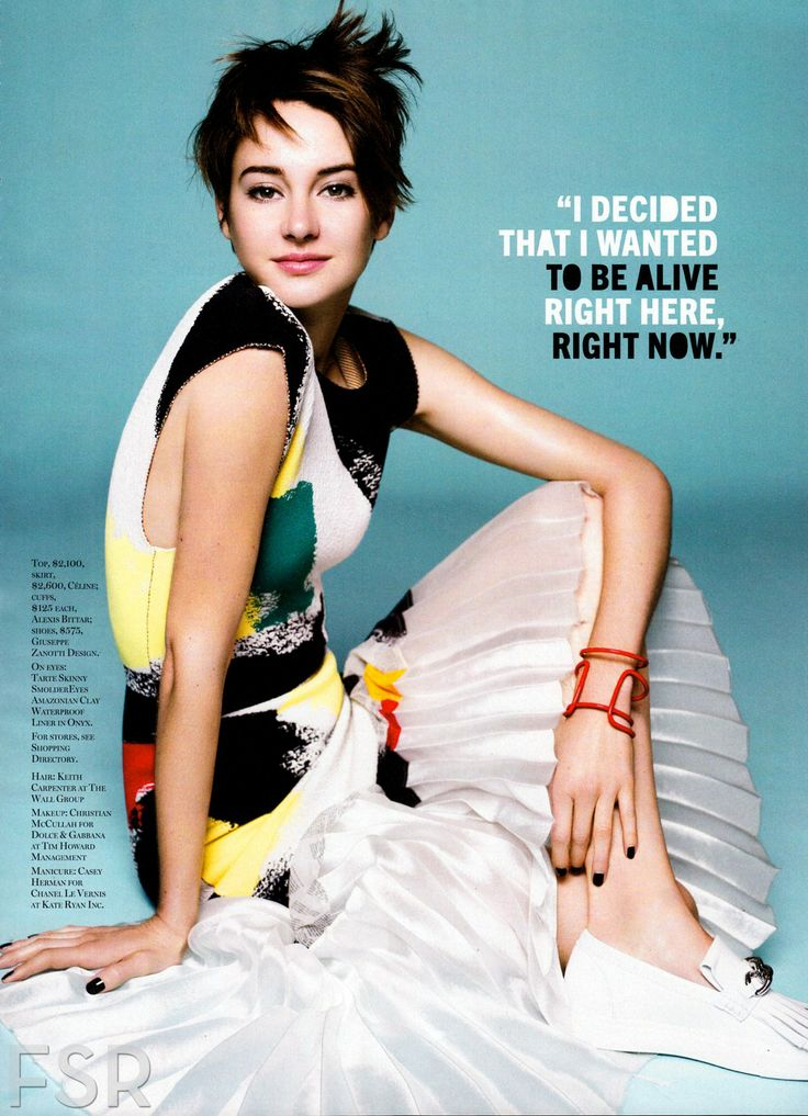 Shailene Woodley – Marie Claire USA April 2014