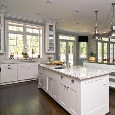 windowed cabinets around kitchen window for the home pinterest on kitchen cabinets around window id=99301